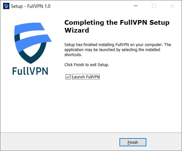 FullVPN Windows Setup 8